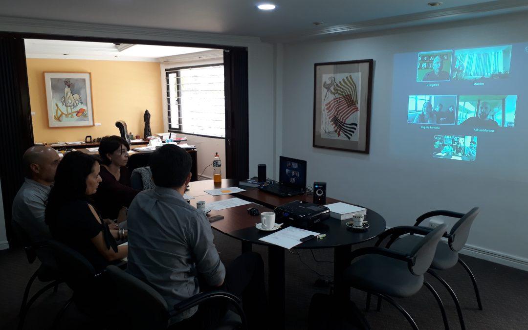 El CAE-P EN LA PRESIDENCIA DEL PROYECTO do_co,mo.mo Ecuador