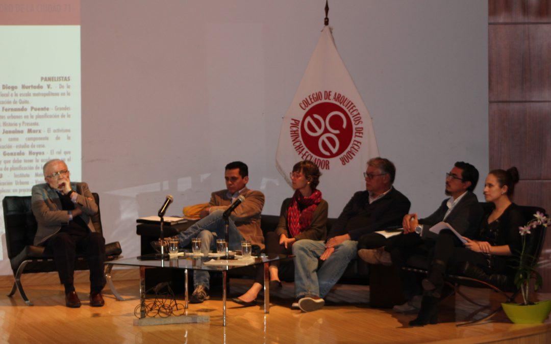 Post-Foro de la Ciudad 71 – TALLER PARTICIPATIVO