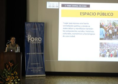 El Foro de la Ciudad® No. 72, Quito, el Metro y el espacio público (5)