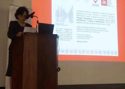 Conferencia Paisajes Prehispanicos Embajada de México (4)