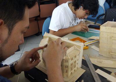 Taller de restauración de maquetas MAE (2)