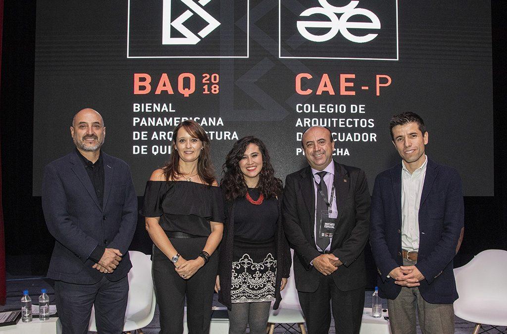 LA XXI BIENAL DE ARQUITECTURA DE QUITO CULMINÓ CON LA ENTREGA DE RECONOCIMIENTOS Y PREMIOS A LOS GANADORES