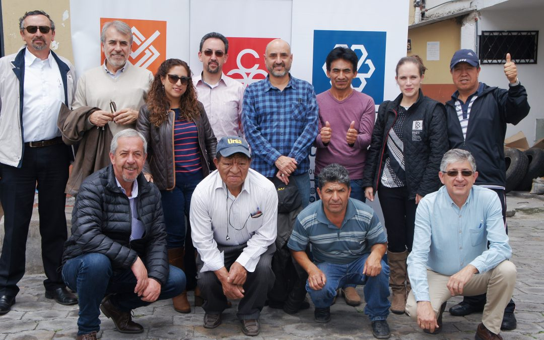 Colegio de Arquitectos de Pichincha promueve proyecto para disminuir riesgo sísmico en Quito