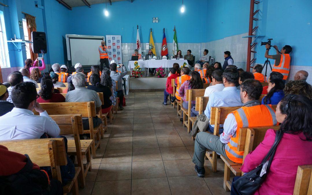 El CAE-P pone en marcha un proyecto de reforzamiento estructural en el barrio La Roldós